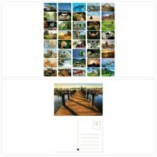 Set of 40 Variety Postcards Collection Assorted Pack Self Mailer Mailing Side