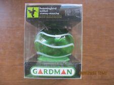 "Hummingbird Feeder Gardman  BA05710 Green/White Swirl Sphere Glass 4"" Long x 4"""
