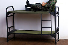 "1/6 Scale Army Soldiers Plastic Bunk Bed DIY Scenery Accessories For 12"" Figure"