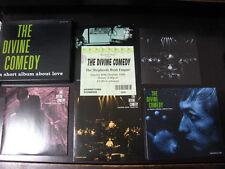 Divine Comedy A Short Album Limited Box CD w Triple CDS , Ticket C86 Neil Hannon