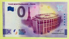 BILLET SOUVENIR 0 EURO 2020-5 VERSION ANNIVERSAIRE TOUR MONTPARNASSE PARIS