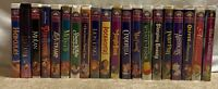 Walt Disney VHS Tapes Masterpiece Collection Movies Classics Lot Of 20