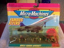 Vintage Micro Machines 64000 Famous Flyers,