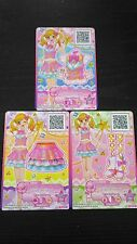 "Trading card of Japanese Animation ""AIKATSU STARS"" Pink star coord"