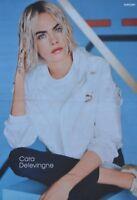 CARA DELEVINGNE - A3 Poster (ca. 42 x 28 cm) - Clippings Fan Sammlung NEU