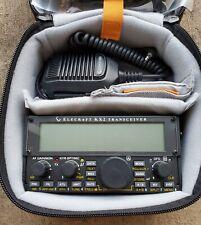 NEW ELECRAFT KX2 TRANSCEIVER HAM RADIO WITH HANDSET ACCESSORIES CARRY CASE (401)