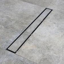 Burgtal Edelstahl bodengleiche Duschrinne BDR-04 Bodenablauf Duschablauf 900mm
