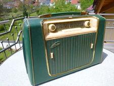 Kofferradio METZ Babyphon 56, mit Plattenspieler, wie neu und voll funktionsf.