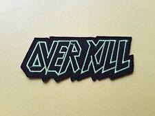 POP, ROCK, PUNK, METAL MUSIC SEW ON & IRON ON PATCH:- OVERKILL