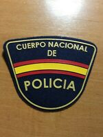 SPAIN PATCH POLICE POLICIA NACIONAL - ORIGINAL!