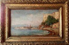 XIXème, vue de Sainte-Marguerite, îles de Lérins / Cannes - Fort Royal - Algérie