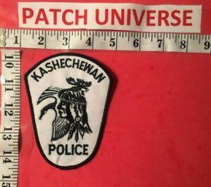 ONTARIO CANADA  KASHECHEWAN POLICE SHOULDER PATCH  S033