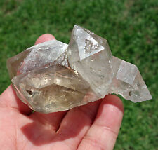 Tibetan WATER INCLUDED DT Crystal Point Himalayan Clear Quartz Cluster