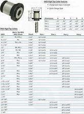 Techniks Size 3 Rigid Tap Collet ANSI 5/8
