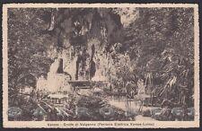 VARESE CITTÀ 175 GROTTE VALGANNA - FERROVIA VARESE LUINO Cartolina viagg. 1915