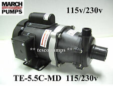 March pump TE-5.5C-MD 1 Phase 115/230V TEFC