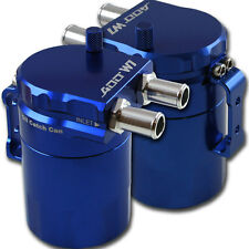 ADD W1 Blue Baffled Universal Aluminum Oil Catch Tank Can Reservoir Tank Ver.1
