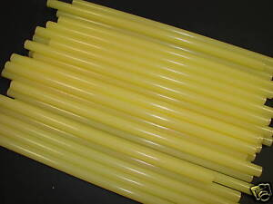 50 X  TAN PACKAGING GLUE STICKS  12MM X 300MM