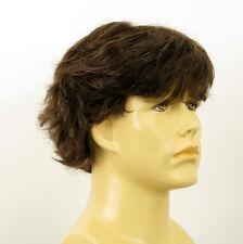 Peluca homme 100% cabello natural castaño ref DANY 6spw