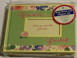 New Seasons: Grandma's Brag Book & Magnet Set NEW Grandkids Are The Greatest