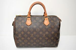 Louis Vuitton, Sac speedy 30 en toile monogram