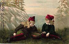 Mädchen mit Zwergenmütze, Schweden, 1906