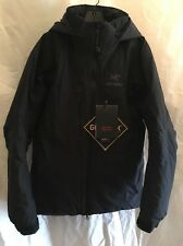 NEW MENS ARCTERYX FISSION SV JACKET MEDIUM. BLACK