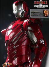 Hot Toys MMS213 1/6 Iron Man 3 Mark 33 XXXIII Silver Centurion Special Edition