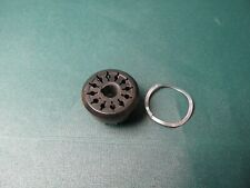 12 Pin Octal Socket Amphenol Usa Vintage Nos jukebox ham radio cable connector