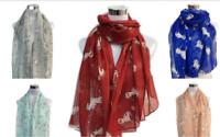 Women's Ladies Fashion Unicorn Animal Print Soft Large Scarf Shawl Wrap 5 Colors