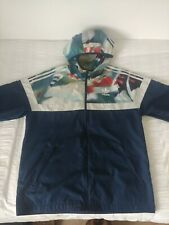 Adidas Mens Lightweight Hooded Jacket, Size Large