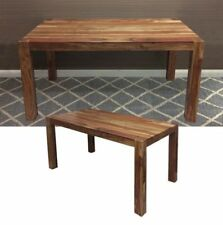 Solid Wood Vintage/Retro Dining Tables