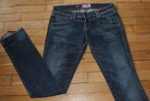 BERSHKA  Jeans pour Femme W 28 - L 34 Taille Fr 38 (Réf S360)