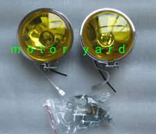 Motorcycle Motorbike Driving Lights / Spot Lights / Fog Lights with Yellow Lens