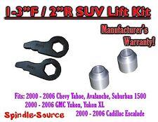 "2000 - 2006 Chevrolet GMC 1500 1-3"" / 2"" Torsion Key Lift Chevy 00-06 Spacer Kit"