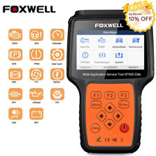 FOXWELL NT650Elite OBD2 Diagnostic Scanner EPB AT BMS DPF ABS SRS Oil Reset Tool
