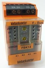 Kieback & Peter FBK14 F-Bus Feldbusmodul 4 Digitale Eingänge Modul für DDC 3000