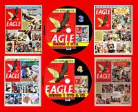 Eagle Comics Series 1 (v7 - v9) inc Annuals  On 4 PC DVD Rom's (CBR FORMAT)