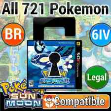 Unlocked Alpha Sapphire 100% LEGAL Battle Ready Pokemon SUN & MOON Compatible! +