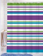 "*NEW* Elyssa Pvc-Free Vinyl Printed Shower Curtain, 70x72"", Stripes, L2-2643"