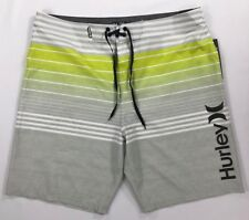 "Mens Hurley Phantom Peters 20"" Board Shorts Surf Swim Trunks Size 38"