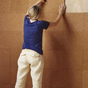 Self Adhesive Cork Wall Tiles set of 6
