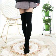 d067e591778 Fashion Women Girl Stripe Over The Knee Thigh Cotton High Stockings Long  Socks