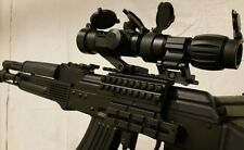 RIFLE MOUNT RED DOT SIGHT & 5X MAGNIFIER FTS Flip to Side Mount eotech scope