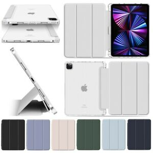 "Stifthalter Smart Cover Apple iPad Air 4. Gen (10.9"") Pencil Case Schutz Hülle"