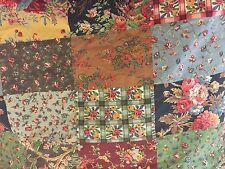 Vintage Ralph Lauren Darby Patchwork Duvet Cover ~ Shabby Cottage Chic