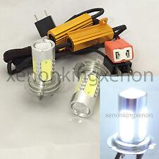 H7 CREE Q5 LED Projector Plasma Xenon 6000K White Light 2x Bulbs #d6 Low Beam