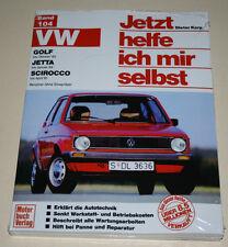 Guía de reparación VW Golf I/1 + jetta + Scirocco, años de construcción 1974 - 1984