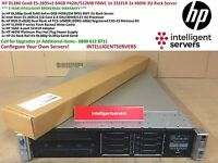HP DL380p Gen8 2x E5-2695v2 64GB P420i/512MB FBWC 1x 331FLR 460W 2U Rack Server