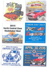 """Car Show 150 Custom 3""""x3"""" Full Color Dash Plaques"""
